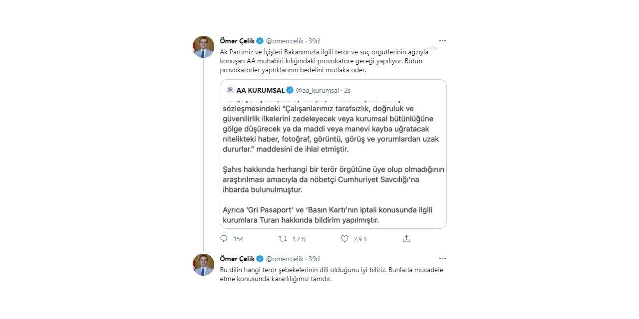 """Türk-iş Genel Başkanı Atalay: """"Ülkeyi, İşçiyi Satanlar, İftira Atanlar Esas Alçak Onlardır"""""""